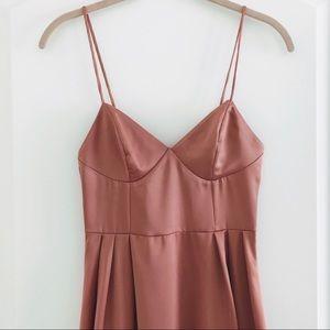 H&M Dresses - H&M Pink Satin Dress